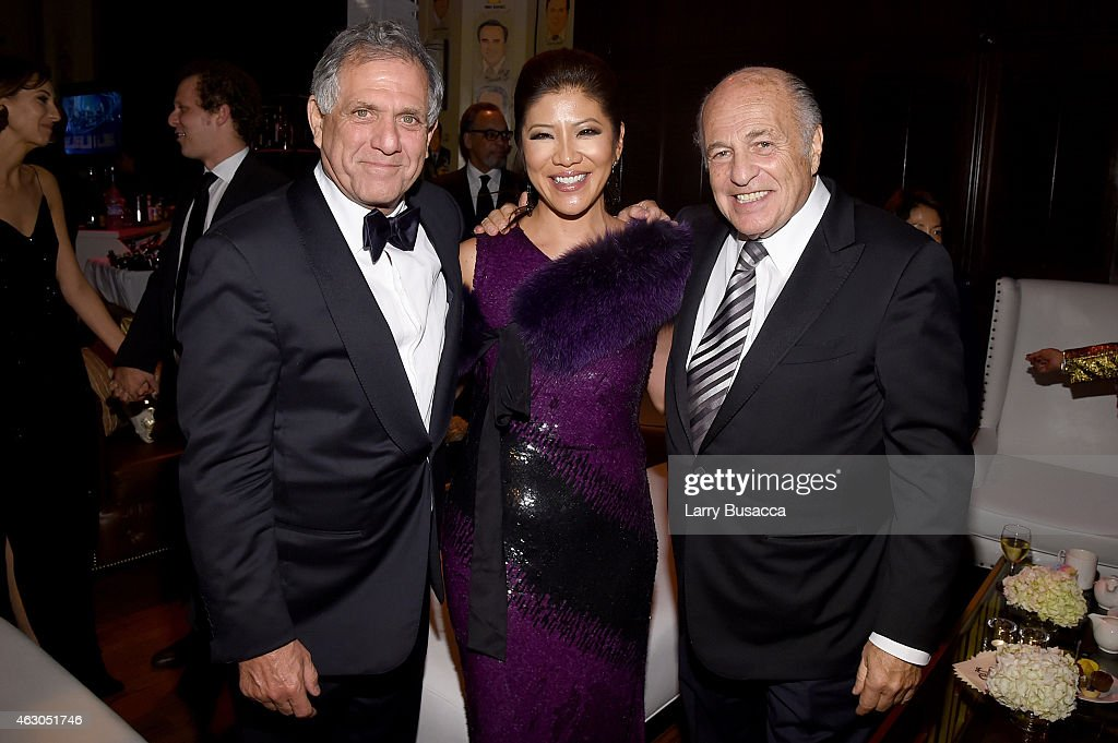 President and Chief Executive Officer of CBS Corporation Les Moonves tv personality Julie Chen and Chairman and CEO of Sony Music Entertainment Doug...