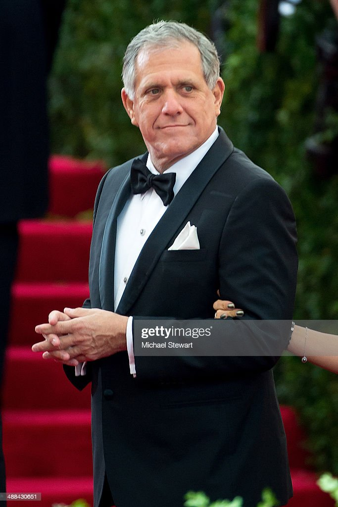 President and Chief Executive Officer of CBS Corporation Leslie Moonves attends the 'Charles James: Beyond Fashion' Costume Institute Gala at the Metropolitan Museum of Art on May 5, 2014 in New York City.