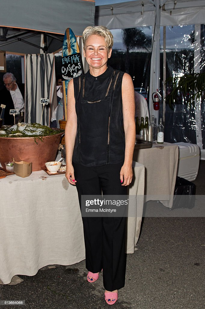 President and Chief Executive Officer of Planned Parenthood Los Angeles Sue Dunlap attends the 2016 Planned Parenthood Los Angeles' food fare at Barker Hangar on March 3, 2016 in Santa Monica, California.