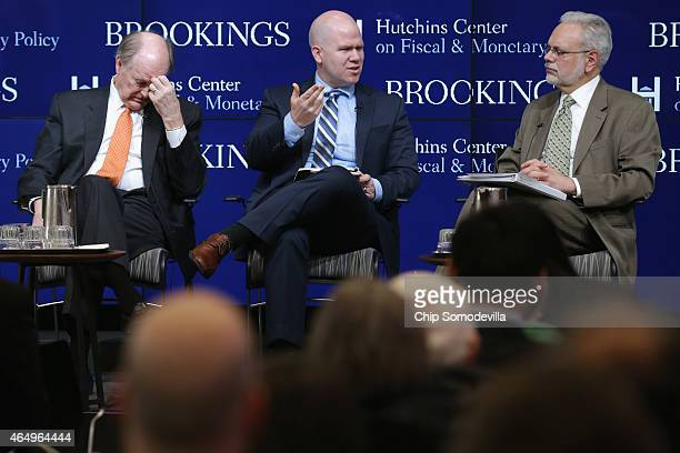 President and Chief Executive Officer of the Federal Reserve Bank of Philadelphia Charles Plosser Peter ContiBrown and and Hutchins Center on Fiscal...