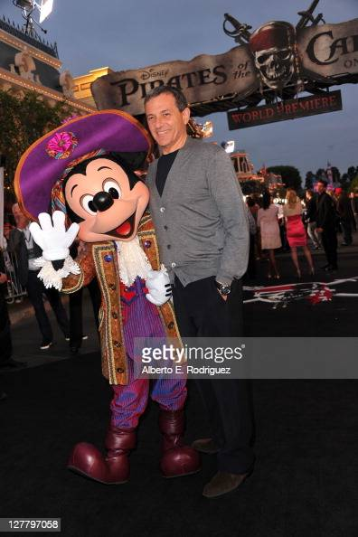 President and Chief Executive Officer of The Walt Disney Company Bob Iger arrives at the world premiere of 'Pirates Of The Caribbean On Stranger...