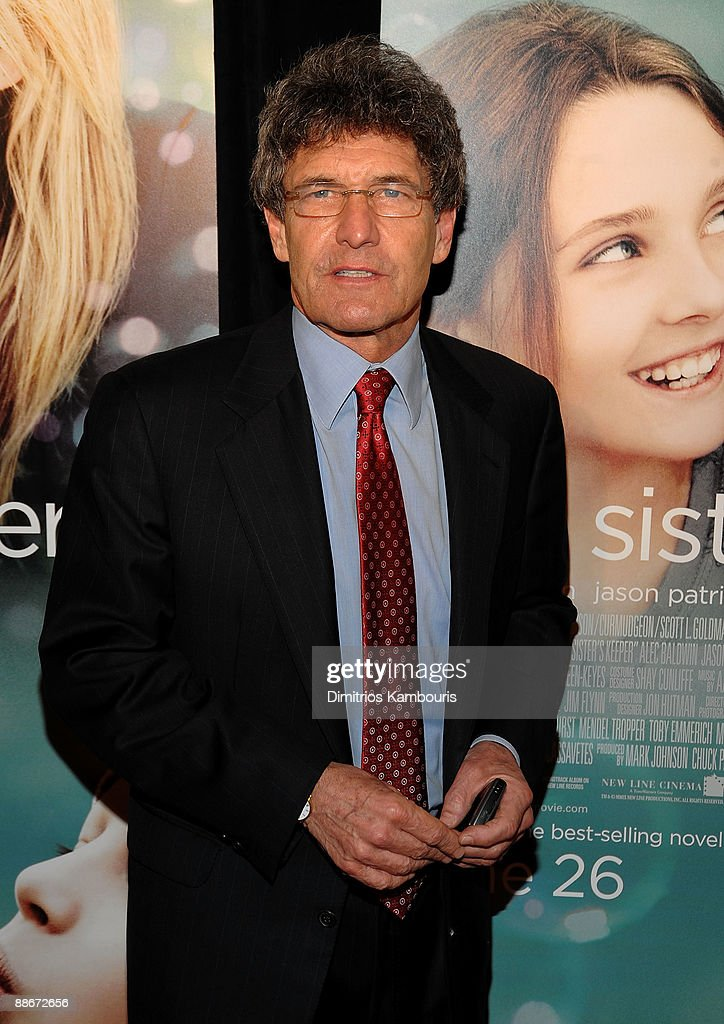 President and Chief Operating Officer of Warner Bros. Entertainment Inc. Alan Horn attends the premiere of 'My Sister's Keeper' at the AMC Lincoln Square theater on June 24, 2009 in New York City.