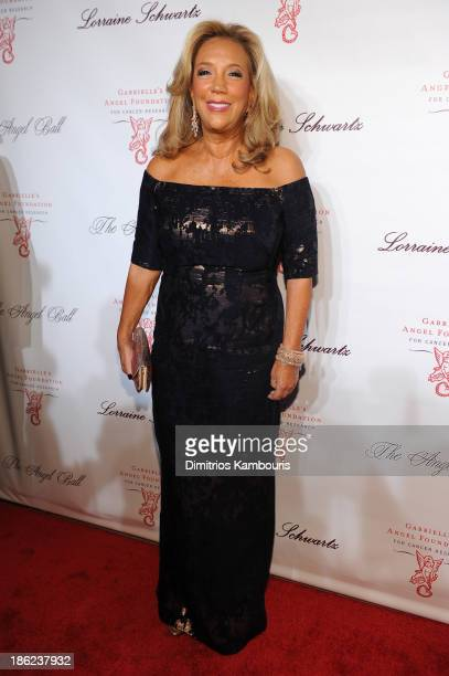 President and Cofounder of Gabrielle's Angel Foundation Denise Rich attends Gabrielle's Angel Foundation Hosts Angel Ball 2013 at Cipriani Wall...