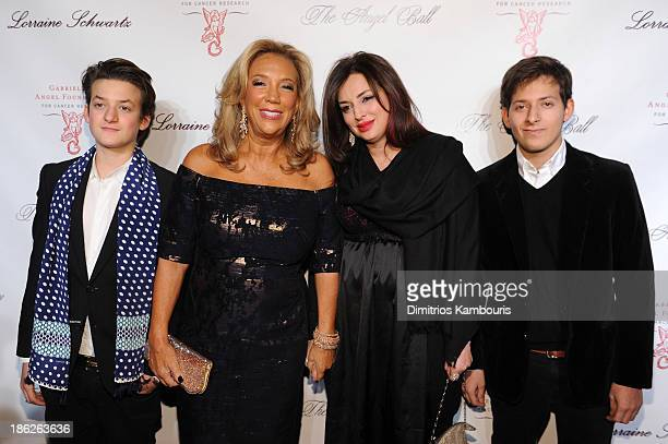 President and Cofounder of Gabrielle's Angel Foundation Denise Rich Ilona Rich Schachter and Rich's grandchildren attend Gabrielle's Angel Foundation...