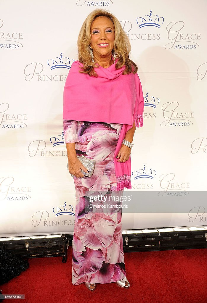 President and Co-founder of Gabrielle's Angel Foundation <a gi-track='captionPersonalityLinkClicked' href=/galleries/search?phrase=Denise+Rich&family=editorial&specificpeople=204678 ng-click='$event.stopPropagation()'>Denise Rich</a> attends the 2013 Princess Grace Awards Gala at Cipriani 42nd Street on October 30, 2013 in New York City.