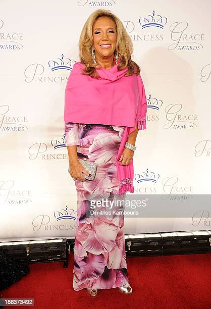 President and Cofounder of Gabrielle's Angel Foundation Denise Rich attends the 2013 Princess Grace Awards Gala at Cipriani 42nd Street on October 30...
