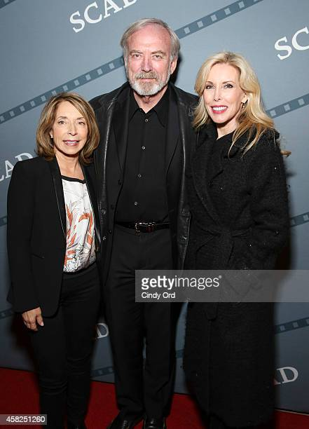 President and cofounder SCAD Paula Wallace James Keach and Kim Campbell attend the Festival Awards Ceremony during the 17th Annual Savannah Film...