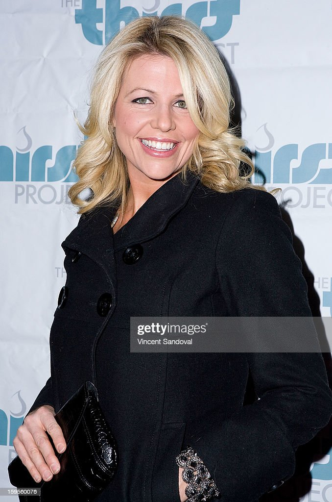 President and Founder of Unlikely Heroes Erica Greve attends the Thirst Project charity cocktail party at Lexington Social House on January 15, 2013 in Hollywood, California.