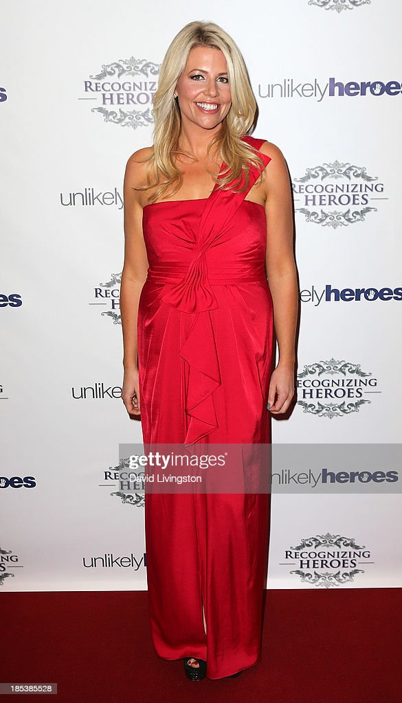 President and founder of Unlikely Heroes Erica Greve attends the Unlikely Heroes' Recognizing Heroes Awards Dinner & Gala at The Living Room at The W Hotel on October 19, 2013 in Los Angeles, California.