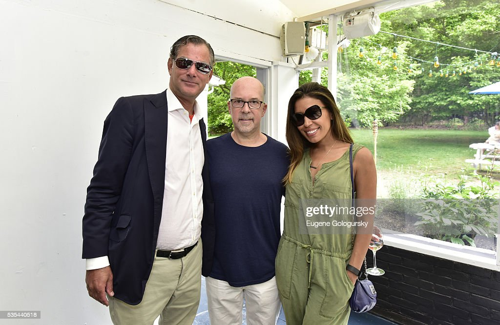 President and Managing Partner at Solas Investments LLC Private Equity, Investment Banking, Real Estate Adam Silberman, Jeffrey Roseman and Shirley Roseman attend as Jason Binn hosts his Annual Memorial Day Party with DuJour Media's Leslie Farrand and Moby's sponsored by Rolls-Royce and Empire CLS on May 29, 2016 in East Hampton.