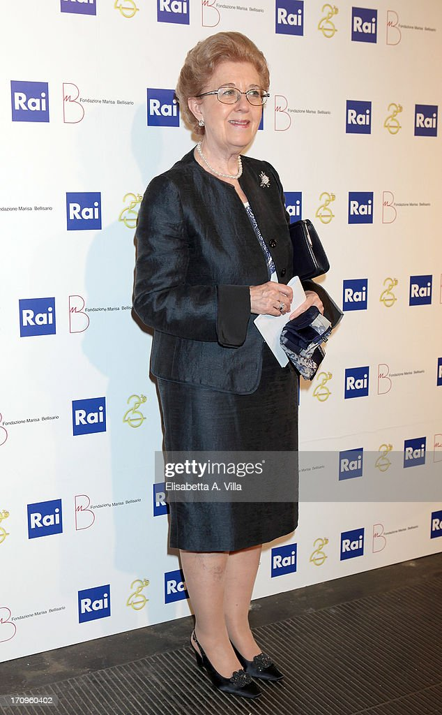 RAI President Anna Maria Tarantola attends Premio Belisario 2013 at Dear RAI studios on June 20, 2013 in Rome, Italy.