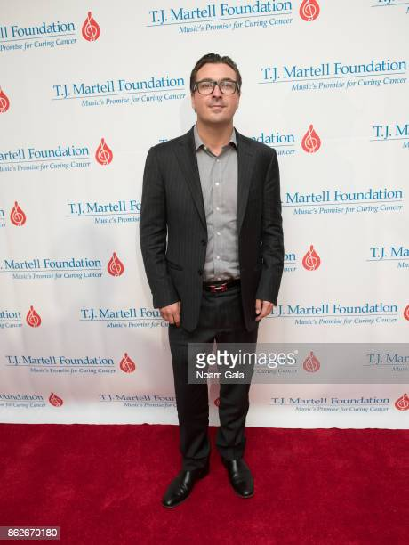 President at Billboard and Hollywood Reporter John Amato attends the TJ Martell 42nd Annual New York Honors Gala at Guastavino's on October 17 2017...