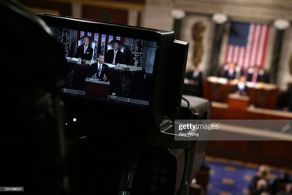 U.S. President <a gi-track='captionPersonalityLinkClicked' href=/galleries/search?phrase=Barack+Obama&family=editorial&specificpeople=203260 ng-click='$event.stopPropagation()'>Barack Obama</a> addresses a Joint Session at the U.S. Capitol September 8, 2011 in Washington, DC. Obama addressed both houses of the U.S. legislature to highlight his plan to create jobs for millions of out of work Americans.