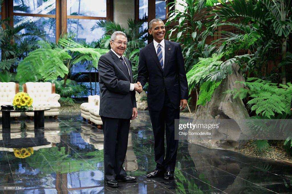 In Focus: President Obama Meets President Castro In Havana
