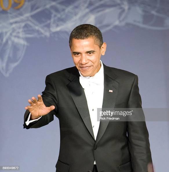 President Barack Obama at the Youth Inaugural Ball at the Washington Hilton in Washington DC