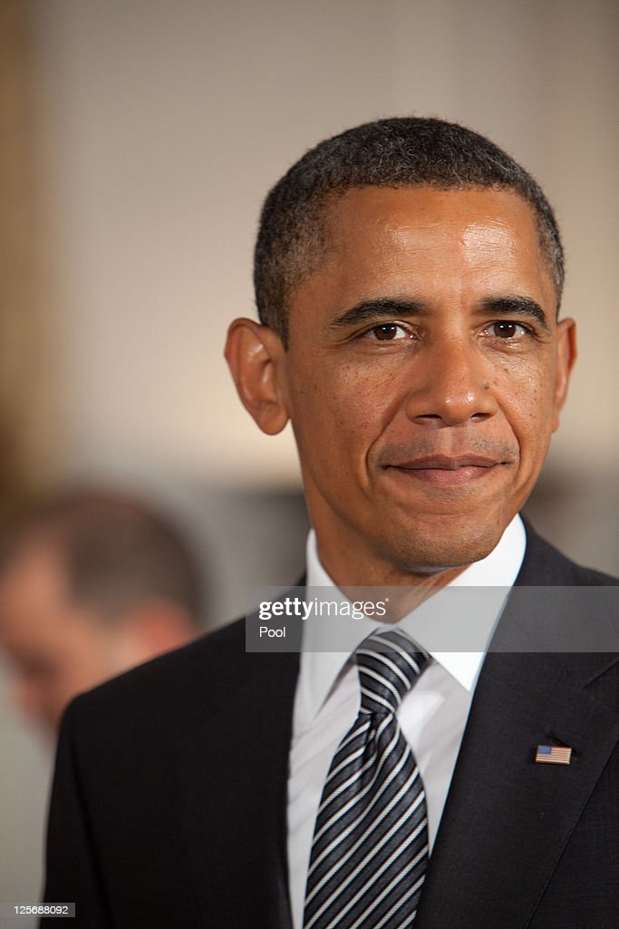U.S. President <a gi-track='captionPersonalityLinkClicked' href=/galleries/search?phrase=Barack+Obama&family=editorial&specificpeople=203260 ng-click='$event.stopPropagation()'>Barack Obama</a> attends a bilateral meeting with Turkish Prime Minister Recep Tayyip Erdogan during the United Nations General Assembly September 20, 2011 in New York City. The 66th session of United Nations General Assembly kicks off September 21, with leaders from around the world attending.