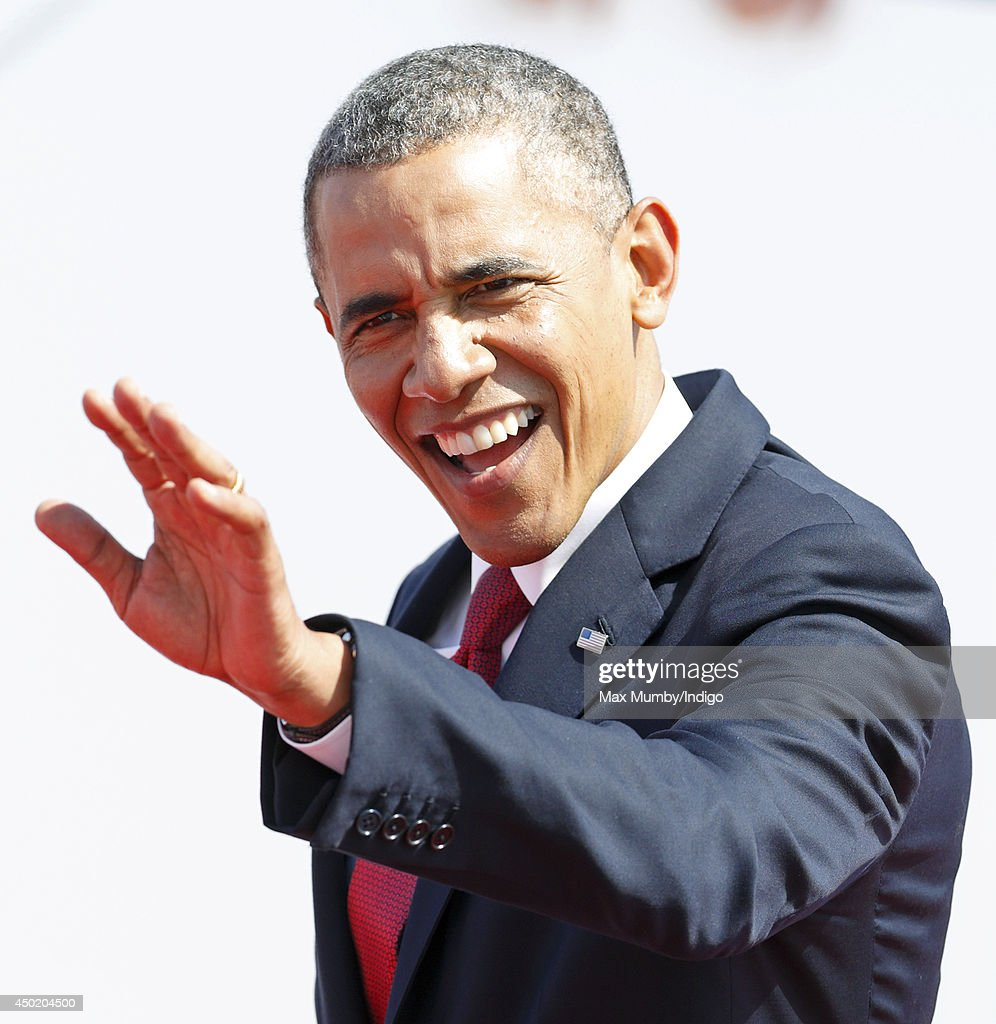 U.S. President <a gi-track='captionPersonalityLinkClicked' href=/galleries/search?phrase=Barack+Obama&family=editorial&specificpeople=203260 ng-click='$event.stopPropagation()'>Barack Obama</a> attends the International Ceremony at Sword Beach to commemorate the 70th anniversary of the D-Day landings on June 6, 2014 in Ouistreham, France. Friday 6th June is the 70th anniversary of the D-Day landings which saw 156,000 troops from the allied countries including the United Kingdom and the United States join forces to launch an audacious attack on the beaches of Normandy, these assaults are credited with the eventual defeat of Nazi Germany. A series of events commemorating the 70th anniversary are planned for the week with many heads of state travelling to the famous beaches to pay their respects to those who lost their lives.