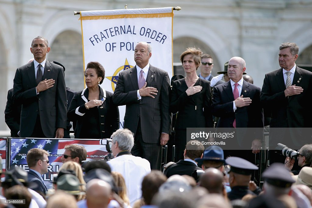 President Obama Speaks At The National Peace Officers' Memorial Service