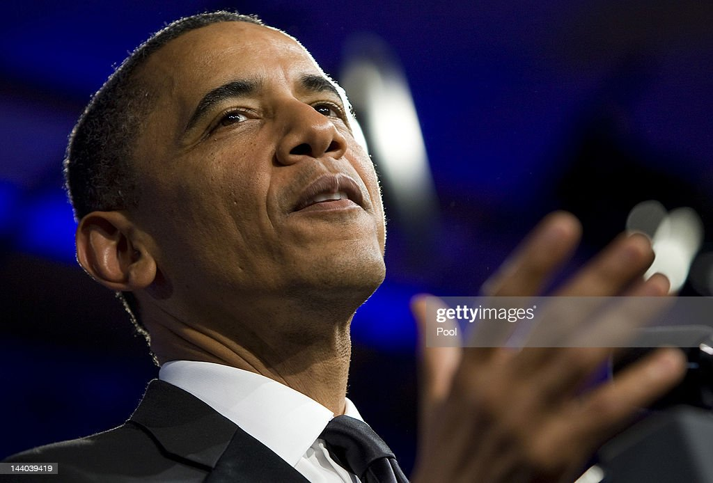 U.S. President <a gi-track='captionPersonalityLinkClicked' href=/galleries/search?phrase=Barack+Obama&family=editorial&specificpeople=203260 ng-click='$event.stopPropagation()'>Barack Obama</a> delivers a keynote address during the 18th Annual Asian Pacific American Institute for Congressional Studies Gala Dinner on May 8, 2012 in Washington, D.C. APAIC is a non-profit group that works to develop Asian American leaders and politicians.