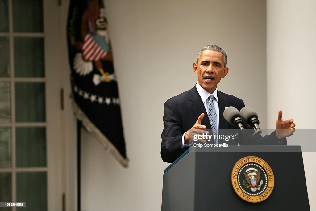 Barack obama delivers remarks about the agreement reached with iran