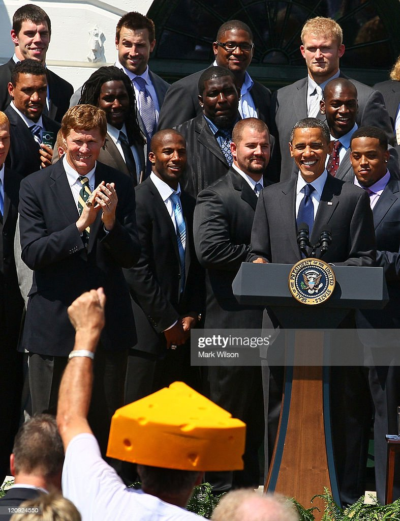green bay packers meet obama video