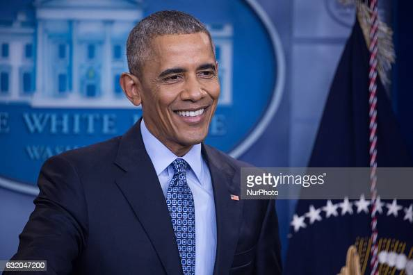 President Obama Holds Final News Conference At The White House : News Photo