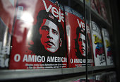 S President Barack Obama is caricatured as Marxist revolutionary Ernesto 'Che' Guevara an iconic symobol of Cuba's revolution on the cover of...