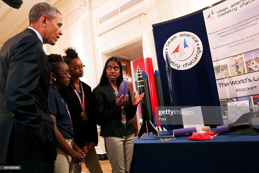 press office remarks president white house science fair