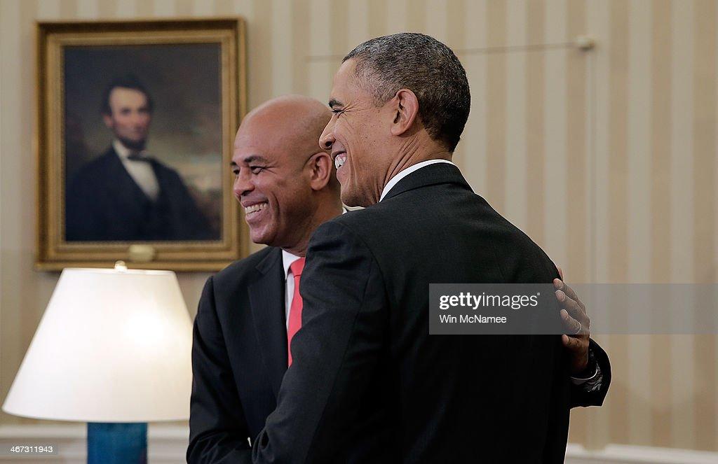Rencontre obama et michel martelly