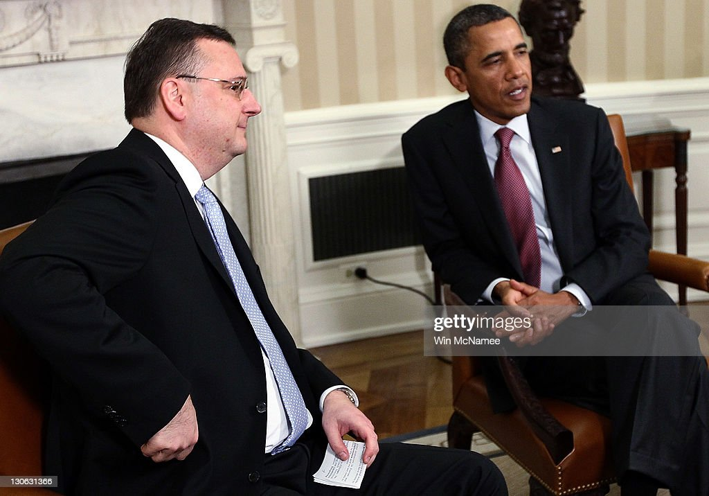 Obama meets With Czech PM