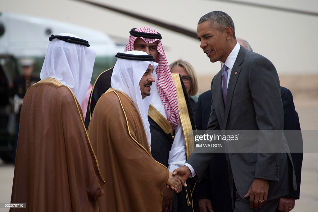 President Obama on visit to Saudi Arabia | Getty Images