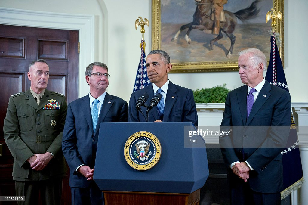 President Obama Announces Troop Level In Afghanistan To Remain At Current Level Through 2016
