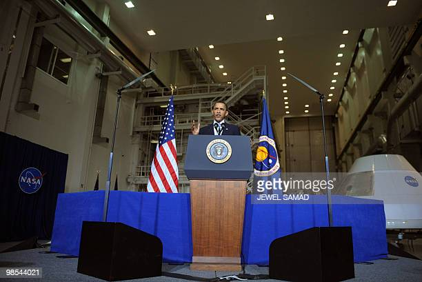 US President Barack Obama speaks on the bold new course the administration is charting for NASA and the future of US leadership in human space flight...
