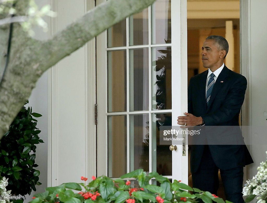 President obama departs the white house getty images - When is obama out of office ...