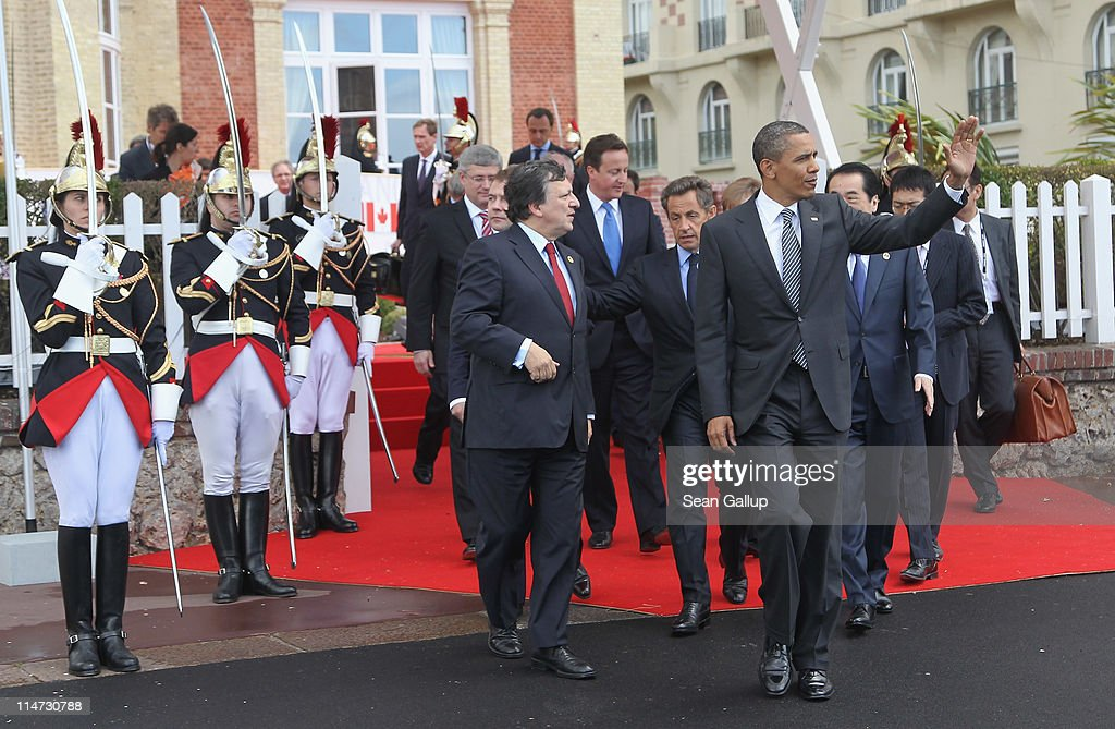 World Leaders Attend G8 Summit 2011 in Deauville
