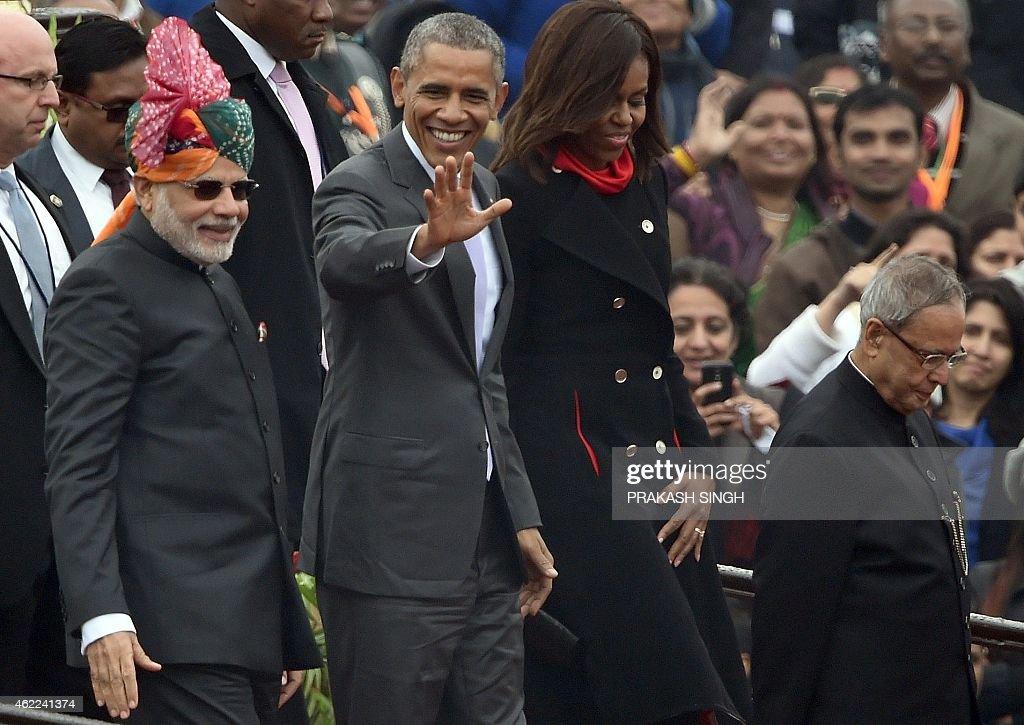 US President Barack Obama Visits India
