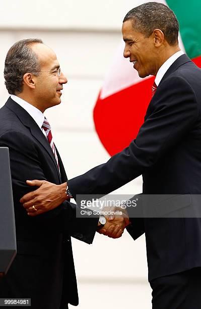 The mexican president felipe calder n s war