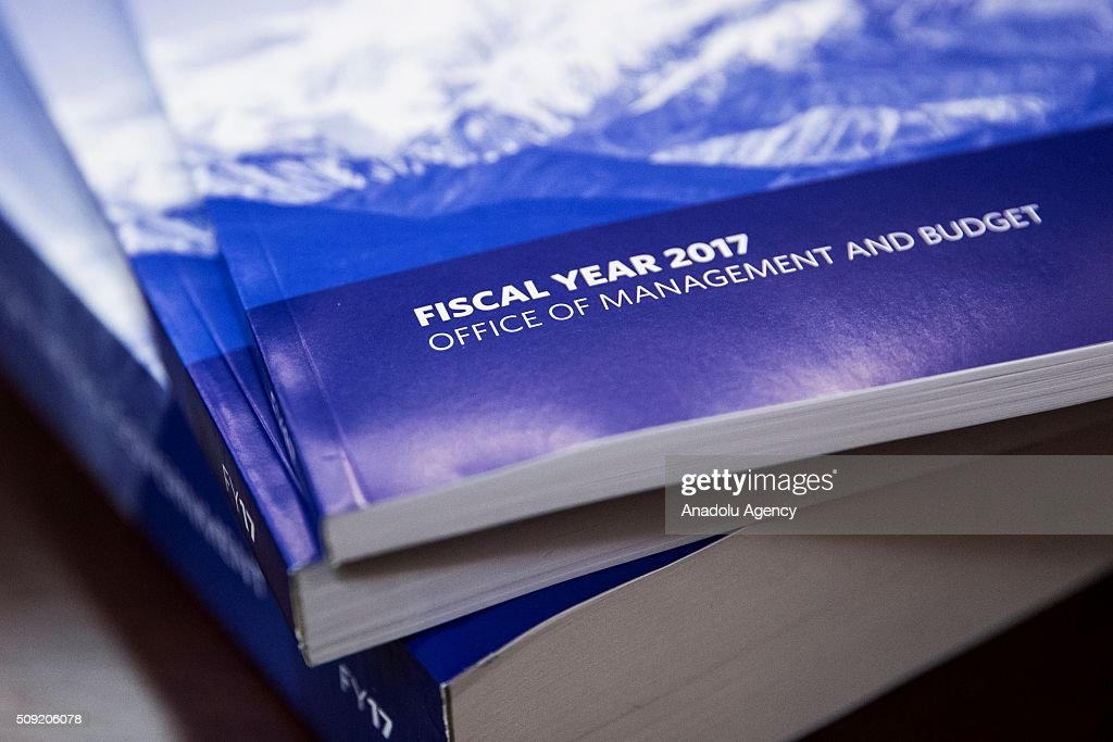 President Barack Obama's fiscal 2017 budget that was delivered to Congress at the Capitol today in Washington, USA on February 9, 2016.