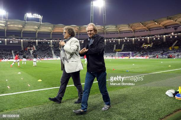 President Bernard Joannin of Amiens during the Ligue 1 match between Toulouse and Amiens SC at Stadium Municipal on October 14 2017 in Toulouse