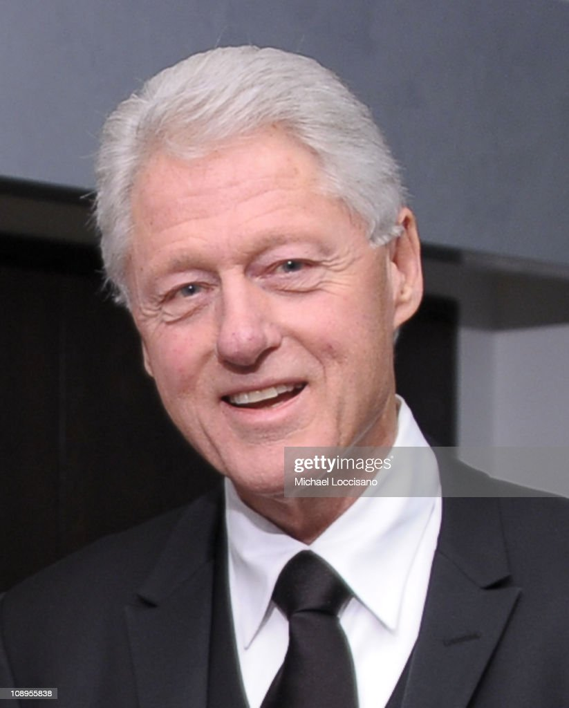 President Bill Clinton attends the 'Walk In My Shoes: Conversations Between A Civil Rights Legend and His Godson on The Journey Ahead' book Event at The Paley Center for Media on February 9, 2011 in New York City.