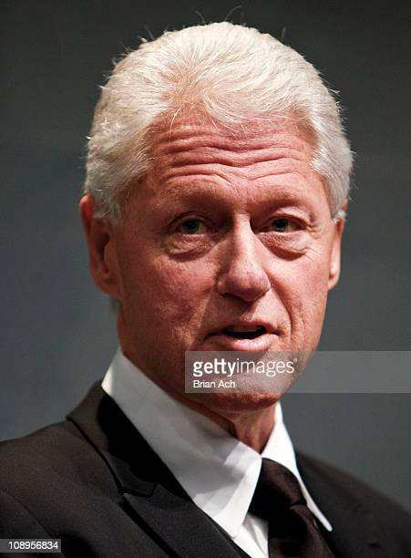 President Bill Clinton attends the 'Walk In My Shoes Conversations Between A Civil Rights Legend and His Godson on The Journey Ahead' Book Event at...