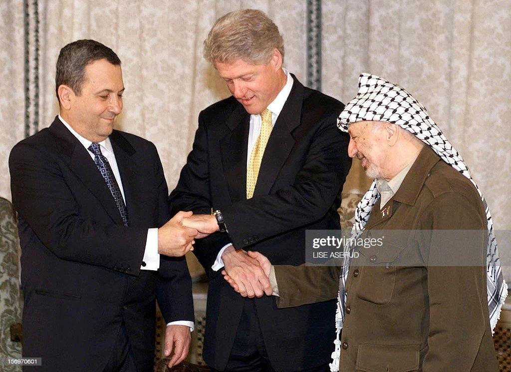 Resultado de imagen de arafat Ehud Barak