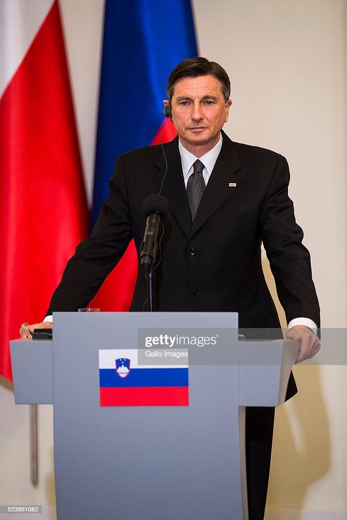 President Duda Meets President Of Slovenia