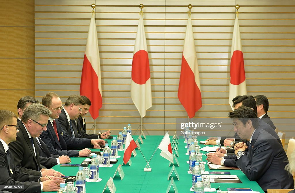 Summit Meeting between Japan and Poland