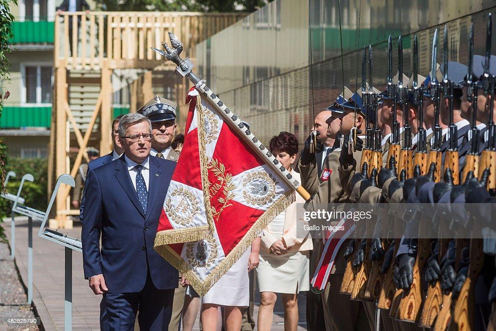 President Komorowski meets Warsaw's Insurgents