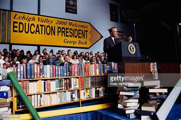 President Bush Speaking at School