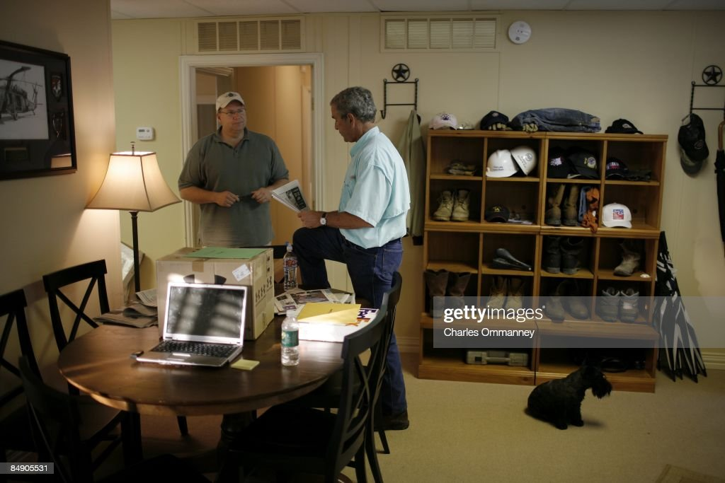 President Bush vacations on his ranch on August 24 2007 in Crawford Texas 'Trailblazer' is the code name the US secret service use for George Bush...