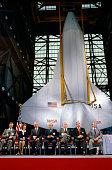 President Carter and John Glenn by Space Shuttle