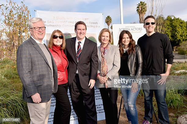 President CEO American Forests Scott Steen SAG Awards Executive Producer Kathy Connell City of Los Angeles Board of Public Works Commission President...