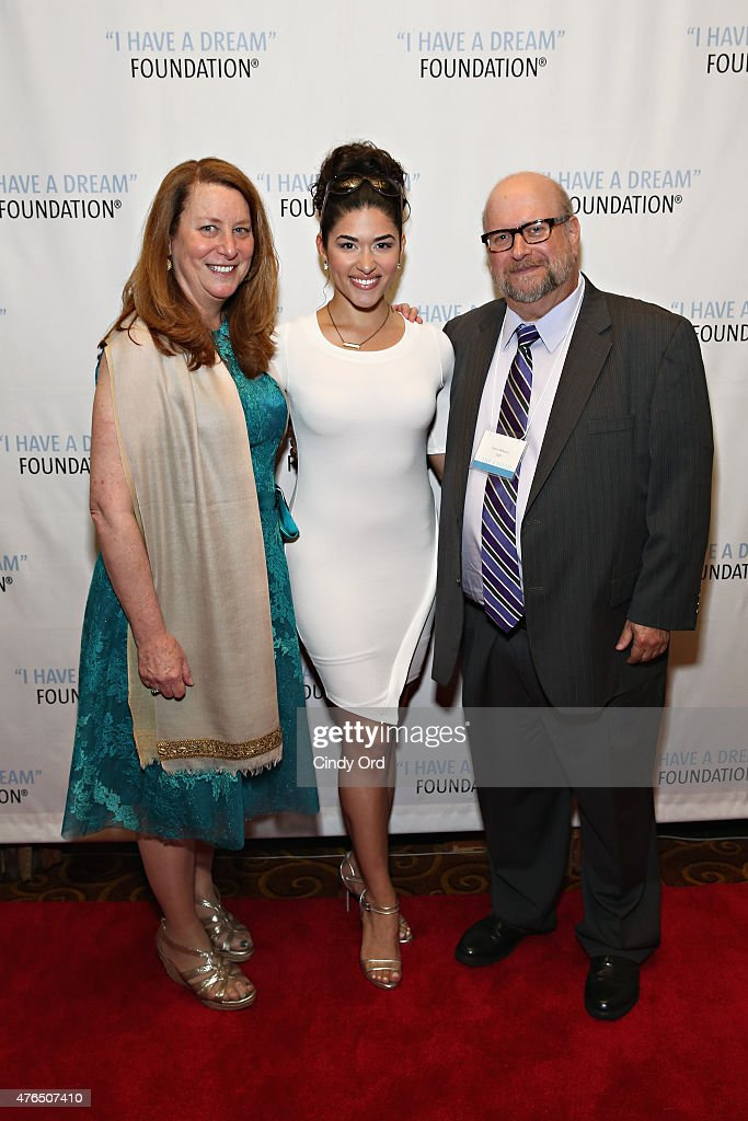 President & CEO at I Have A Dream Foundation Donna Lawrence, actress Stephanie Andujar and Steve Milbauer attend the I Have A Dream Foundation 'Spirit of the Dream' Gala at Gotham Hall on June 9, 2015 in New York City.